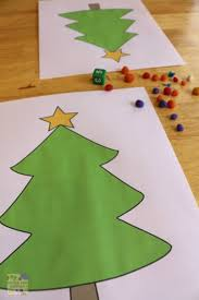 free christmas tree math printables 4 ways to play time