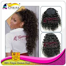 drawstring ponytail 8a 100 malaysian lace wig with baby hair tight curly