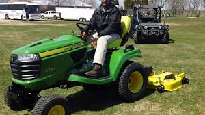 john deere auto connect signature x700 series lawn tractor youtube