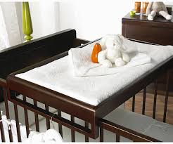 Cot Changing Table Diy Crib Top Changing Table Totally Want This Instead Of Actual