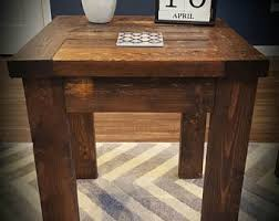 Distressed Sofa Table by Distressed Table Etsy