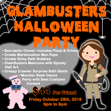 halloween party png glama gal tween spa halloween party entertainment sudbury