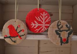 christmas needlepoint modern needlepoint christmas ornaments cookie connection