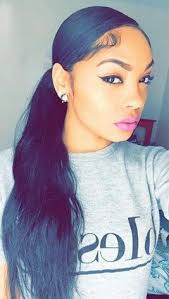 slick back weave hairstyles 208 best hairstyles ponytails updo s etc images on pinterest