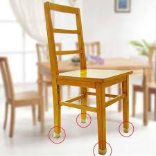 Wrought Iron Chair Leg Caps by Chair Leg Floor Protectors Square Furniture Chair Leg Caps 1 1 8