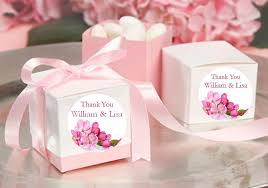 party favor labels cherry blossom wedding bridal favor labels stickers pavia