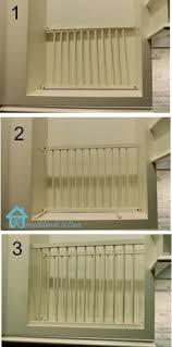 DIY Inside Cabinet Plate Rack Cabinet Plate Rack Inside - Kitchen cabinet plate organizers
