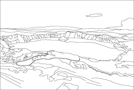 lake 6 nature printable coloring pages in coloring page eson me