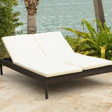 Double Chaise Lounge Sofa by Rattan Double Chaise Lounge Outdoor Furniture Beautiful Double