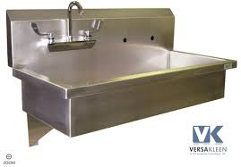 wall mounted ss sink kitchen sinks economical stainless steel wallmount lab sink