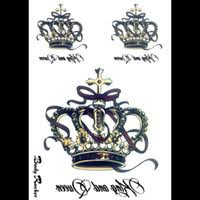 wholesale tattoo crown for man buy cheap tattoo crown for man