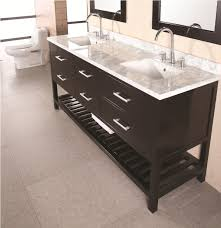 72 In Bathroom Vanity by Design Element Dec077b London 72 Inch Double Sink Vanity Set