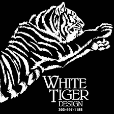 white tiger design architecture
