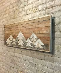 wood decor on wall reclaimed wood wall decor wall decoration ideas