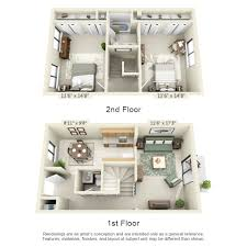 two bedroom townhouse floor plan floor plans pricing