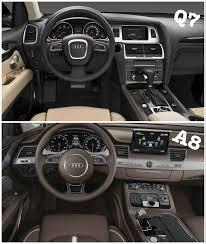 Audi Q7 Inside 2016 Audi Q7 Interior Revealed In Latest Spyshots New Mmi