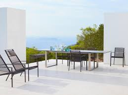 edge armchair garden chairs from cane line architonic