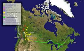 Pipeline Map Of North America by Transcanada Pipeline Wikipedia