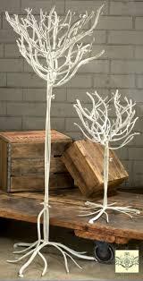 design display tree white finish 26 ornament trees