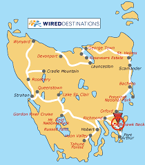 map of tasmania australia port arthur tasmania australia cruise port of call