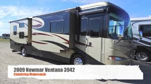 Class A Motorhome With Bunk Beds Used 2009 Newmar Ventana 3942 With Bunk Beds Diesel Pusher