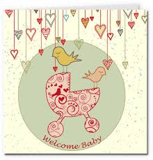 baby card free printable baby cards pram girl cards baby