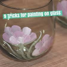 25 unique painting on glass ideas on pinterest diy projects
