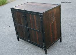 combine 9 industrial furniture u2013 reclaimed wood night stand or