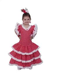 sevillana costumes and flamenco dresses for girls