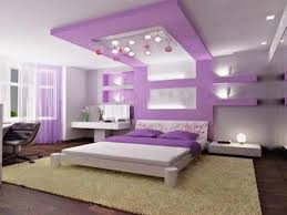 Bedroom Purple Wallpaper - purple wallpaper with white pattern purple curtains and pillows