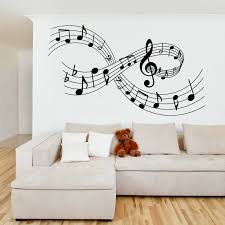 music notes wall sticker wall stickers music notes wall sticker