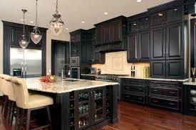 Kitchen Surprising Dark Wood Kitchen Cabinets Designs Brown Wood - Dark wood kitchen cabinets
