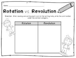 freebie rotation vs revolution partner game by the classroom nook