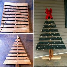 pallet christmas tree christmas tree made from a shipping pallet pallet craft