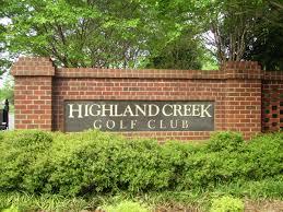 file highland creek golf club entrance sign jpg wikipedia