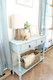 Chalk Paint Side Table Farmhouse Coffee Table Makeover Unoriginal Mom