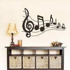 Music Note Home Decor Music Room Wall Decor Shenra Com