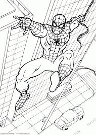 33 free printable spiderman coloring pages coloring