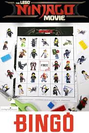 The Bingo Barn Lego Ninjago Bingo Free Printable Lego Bingo Game