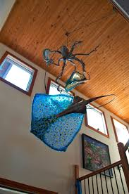 Octopus Ceiling Light by Stan Harmon Glass Art U0026 Sculpture Octopus Stingrays And Ship N