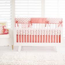 Navy And Coral Crib Bedding Baby Cribs Ebay Tags Baby Beds Circle Baby Cribs