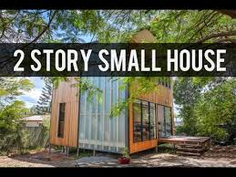 tiny two story house black cedar box two story small house by baahouse baastudio youtube