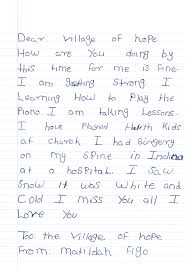 sending a letter back home matilda u0027s path