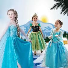 2017 elsa dress frozen costume fever inspired green maxi split