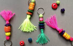 diy mother u0027s day keyring u2013 as easy as a macaroni necklace only