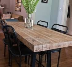 industrial kitchen table furniture industrial style dining table foter