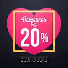 valentines sales day sales special offers and discounts day sale