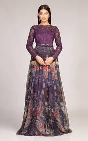 chiffon dress fahad hussayn printed chiffon dress