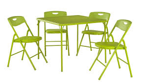 childrens folding table and chair set cosco piece folding table and chair set apple green child wooden