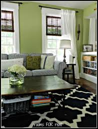 Decorating Bedroom With Green Walls Rooms For Rent Living Room Update Love The Bright Green Walls